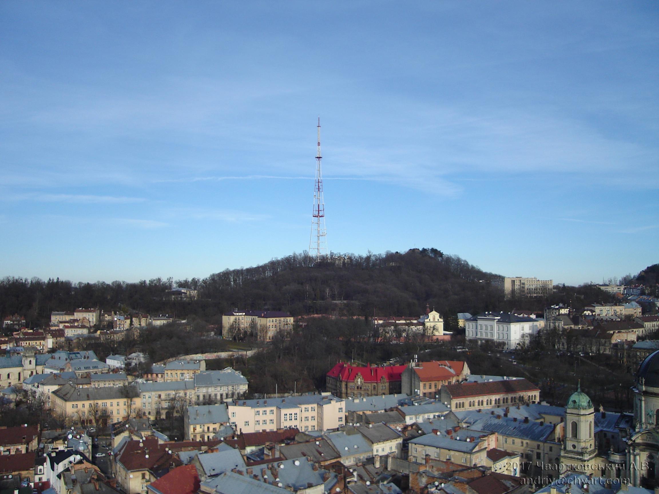 Високий замок і телевежа