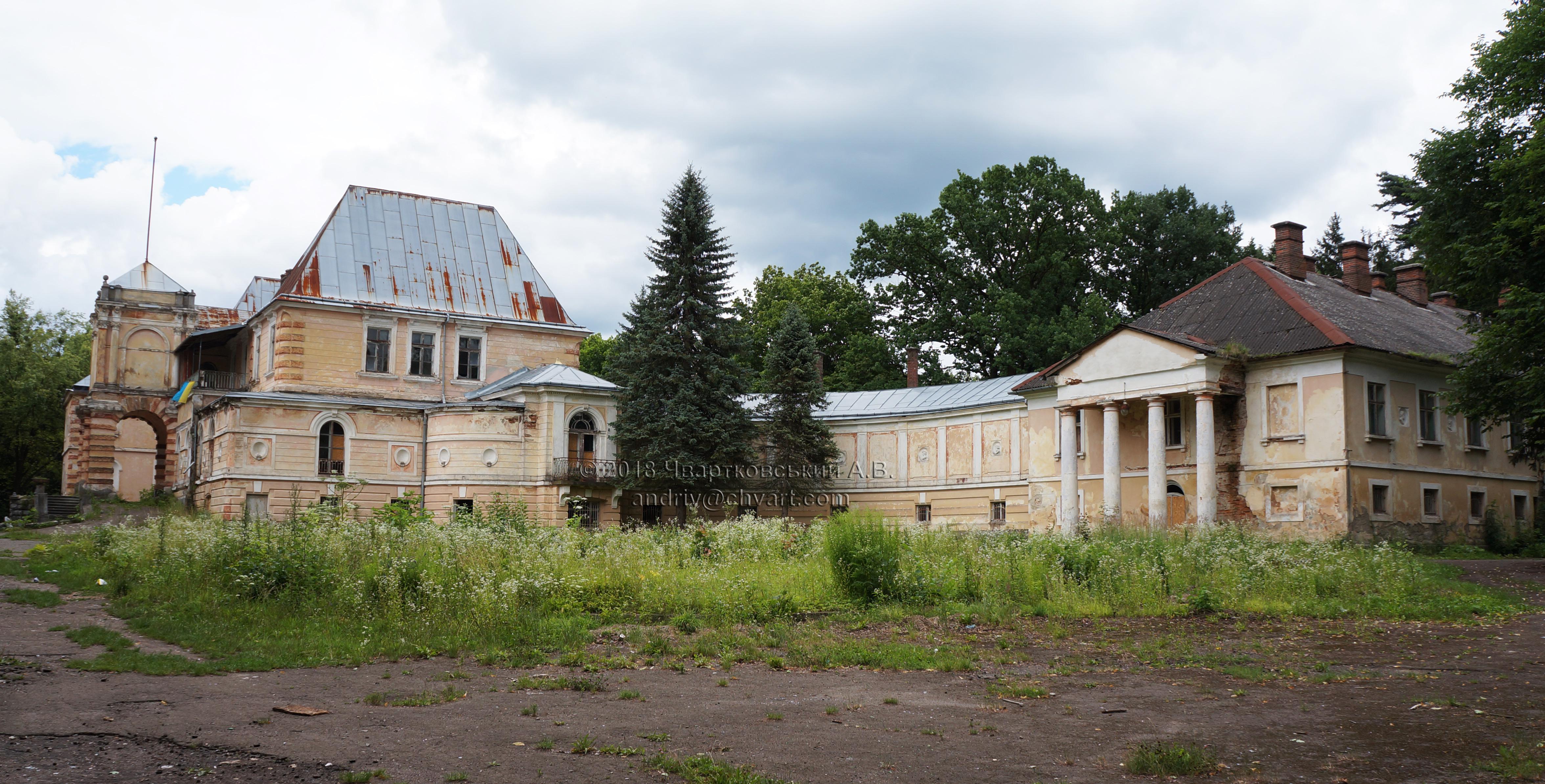 Палац Жевуських-Лянцкоронських