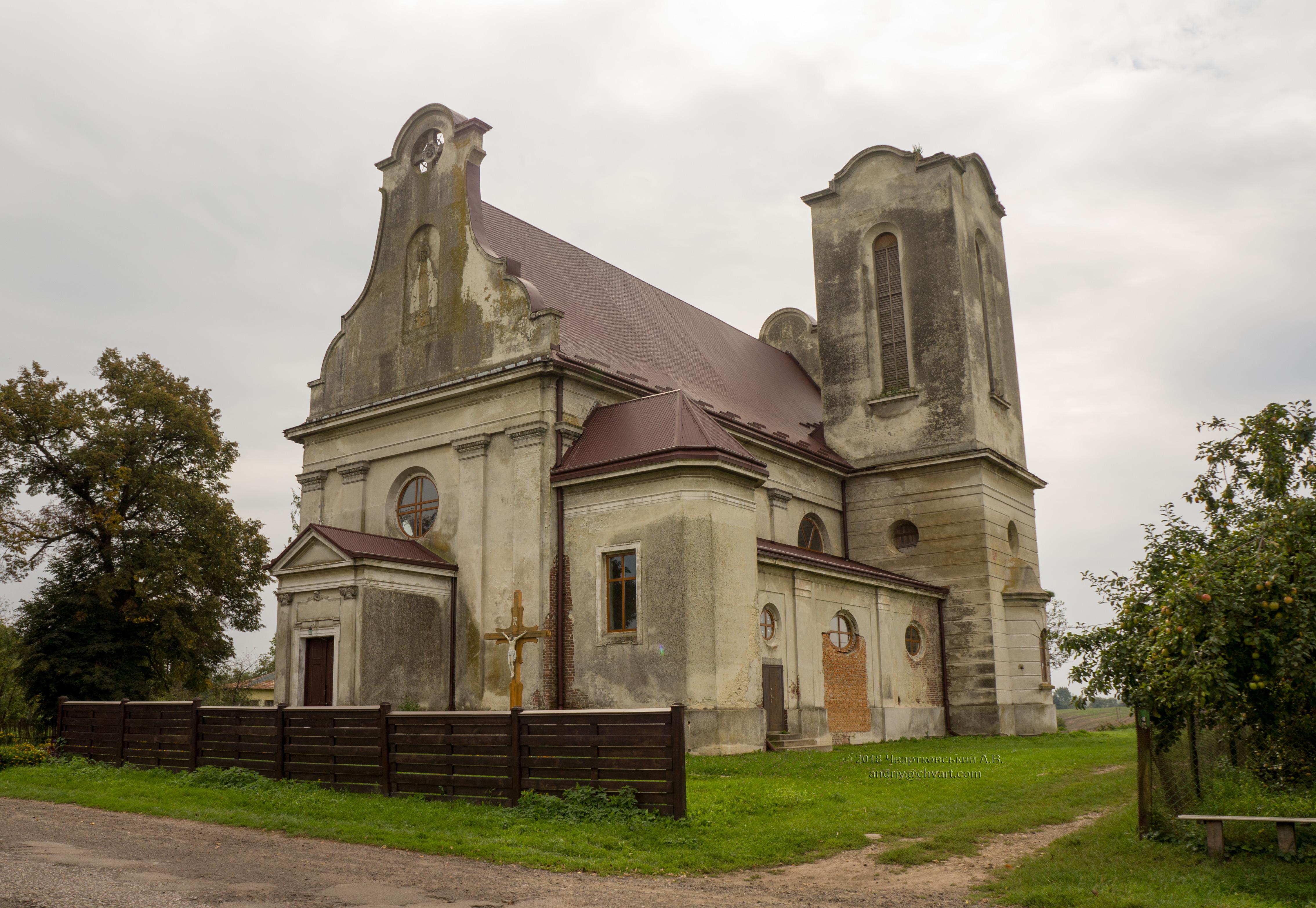 Костел Воздвиження Хреста
