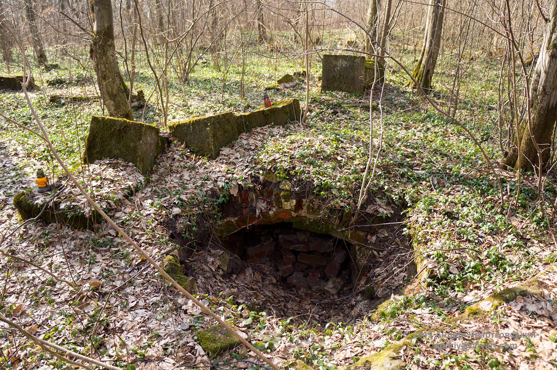 Розкриті та пограбовані гробівці