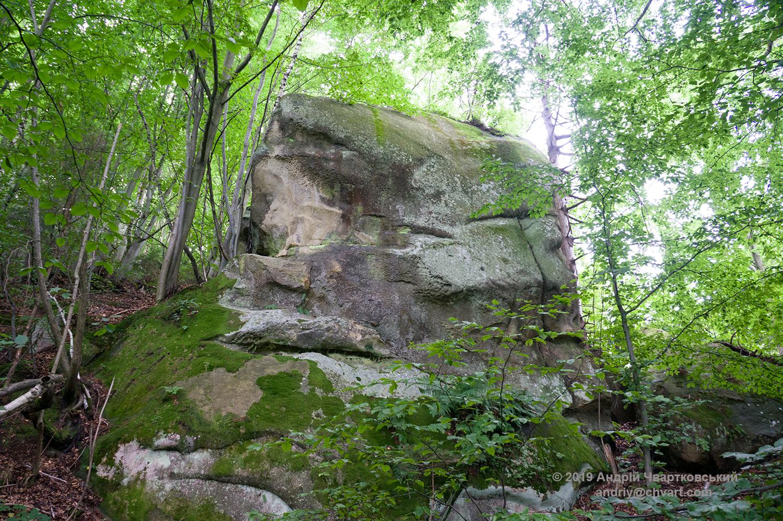 Шлях до скель