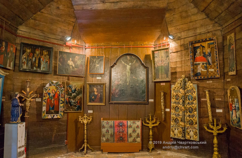 Експонати музею
