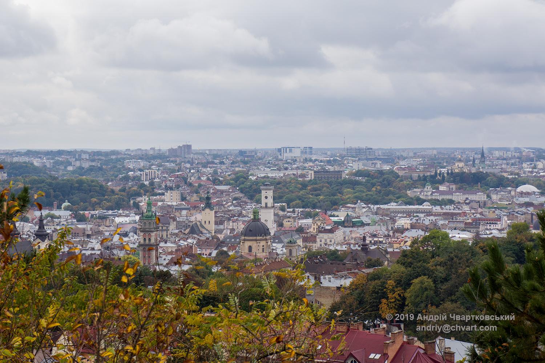 Панорама історичного середмістя