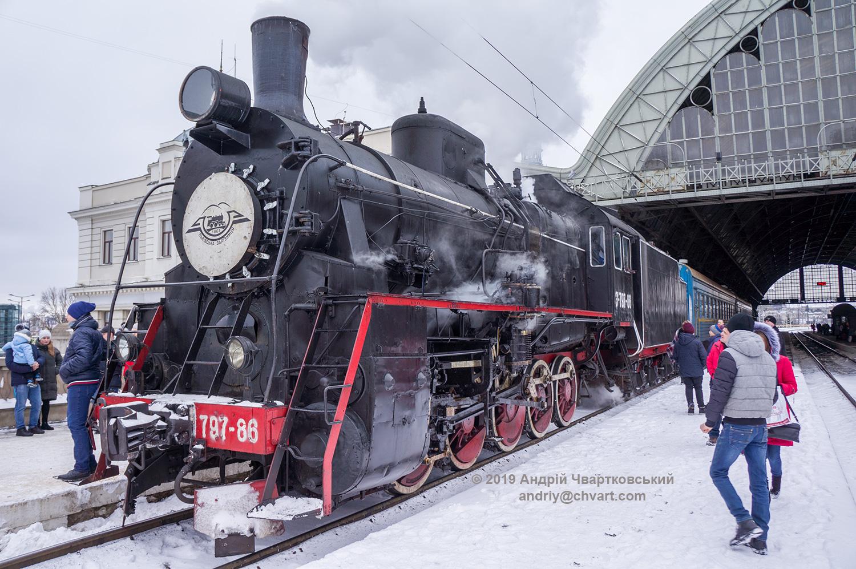 Паровоз Ер-797-86