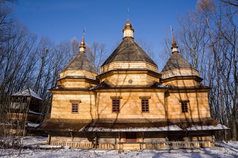 Церква Св. Параскеви з с. Стоянів