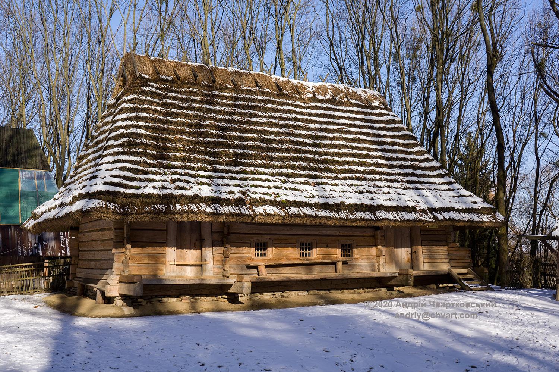 Хата (1812 р.) з села Либохора