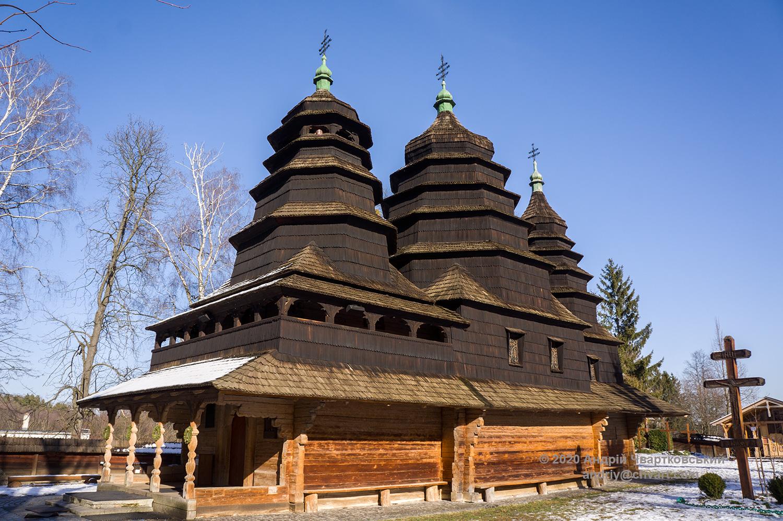 Церква Премудрості Божої (1763 р.) з села Кривка