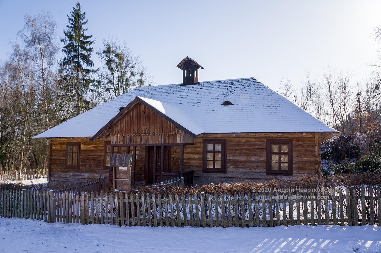 Школа (1880 р.) з с.Бусовисько