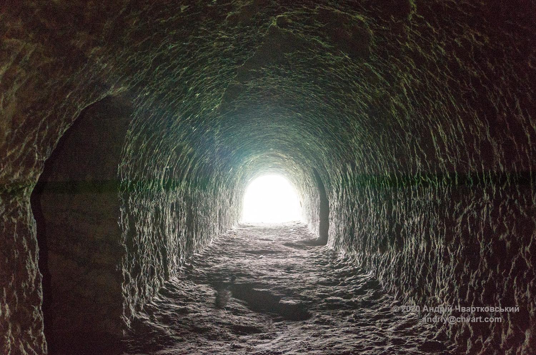"""Кадр """"світло в кінці тунелю"""""""