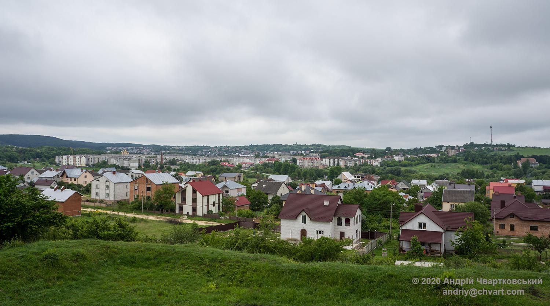 Вид з печер на Миколаїв